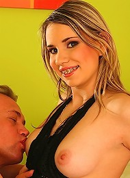 Kinky Blond Teen Getting Fucked In Her Ass Teen Porn Pix