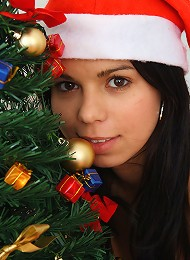 Gorgeous Naked Teen Says Merry Christmas To Her Fans! Teen Porn Pix