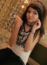 Gorgeous 18yo Emo Teen Posing And Teasing Teen Porn Pix