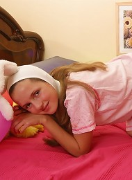 Lovely Teen Girl In Bunny Outfit Exposing Her Small Boobies Teen Porn Pix