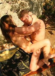 Teen Couple Fuck On A Picnic Teen Porn Pix
