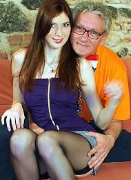 Gorgeous Redhead Penetrated Hard Teen Porn Pix