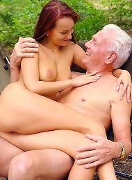 Freaky Old Grandpa Fucks A Teen Teen Porn Pix